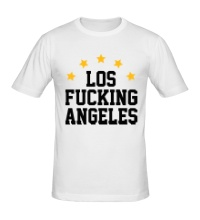 Мужская футболка Los Fucking Angeles