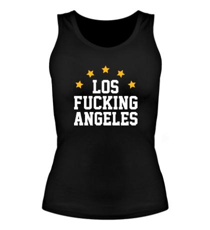 Женская майка Los Fucking Angeles