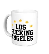 Керамическая кружка Los Fucking Angeles