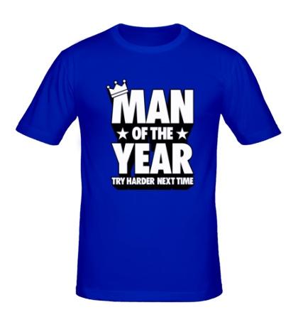 Мужская футболка Man of the Year