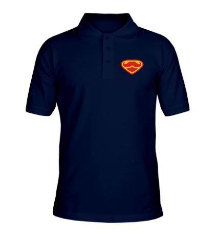 Рубашка поло Moustache Superman