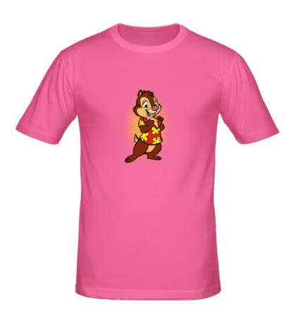 Мужская футболка Довольный Дейл