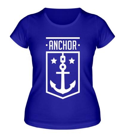 Женская футболка Anchor Shield