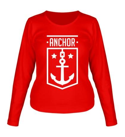 Женский лонгслив Anchor Shield