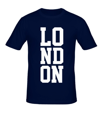 Мужская футболка London