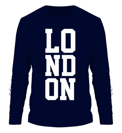 Мужской лонгслив London