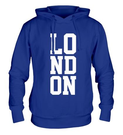 Толстовка с капюшоном London