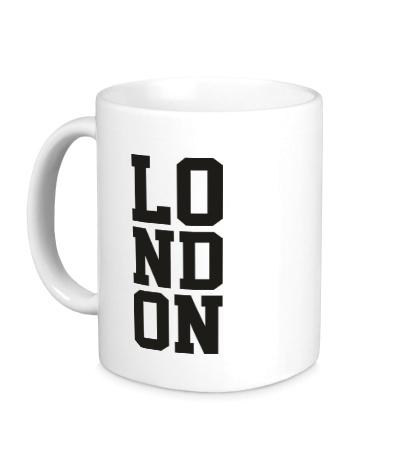 Керамическая кружка London
