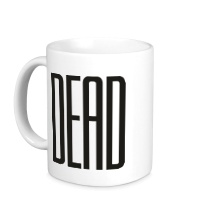Керамическая кружка Long Dead