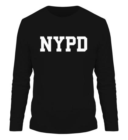 Мужской лонгслив NYPD
