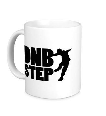 Керамическая кружка «DnB Step»