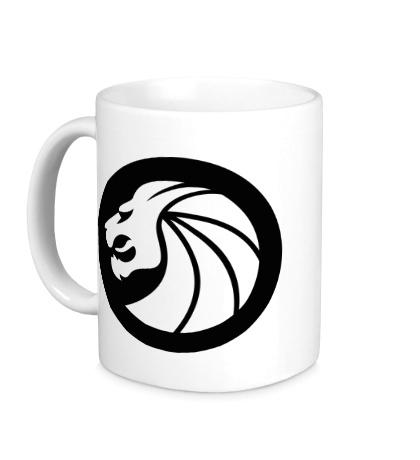 Керамическая кружка Seven Lions Symbol