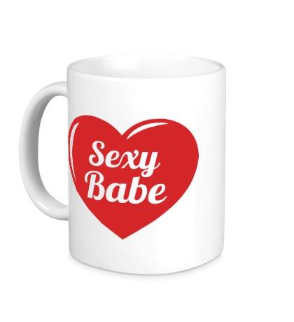 Керамическая кружка Sexy Babe