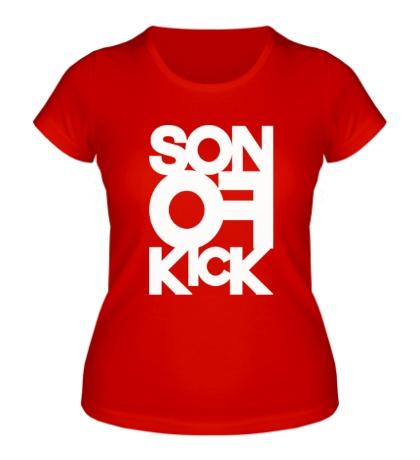 Женская футболка Son of Kick