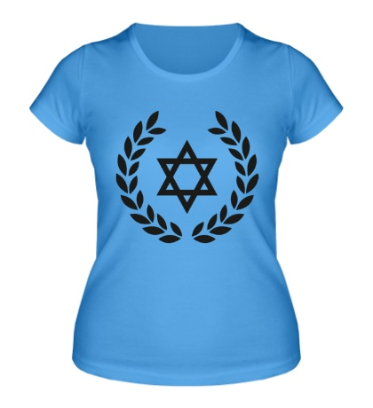 Женская футболка Star of David