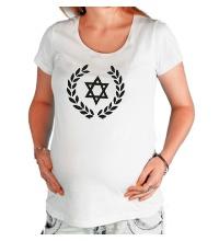 Футболка для беременной Star of David
