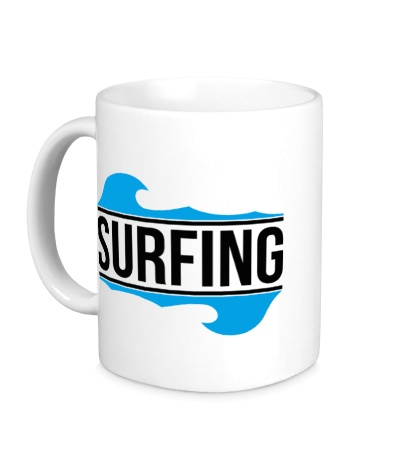 Керамическая кружка Surfing
