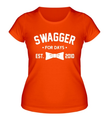 Женская футболка Swagger for Days
