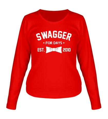Женский лонгслив Swagger for Days