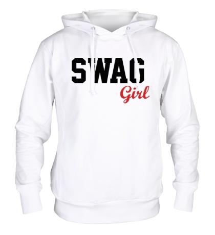 Толстовка с капюшоном SWAG Girl