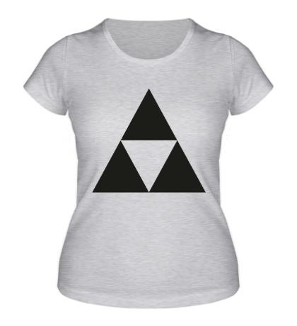 Женская футболка Three Force