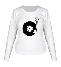 Женский лонгслив Vinyl Mix