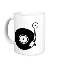 Керамическая кружка Vinyl Mix