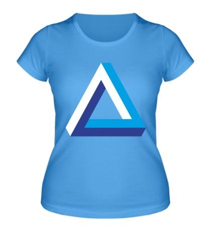 Женская футболка Visual Illusion