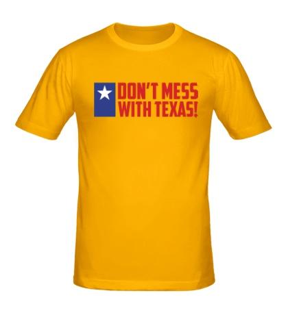 Мужская футболка With Texas
