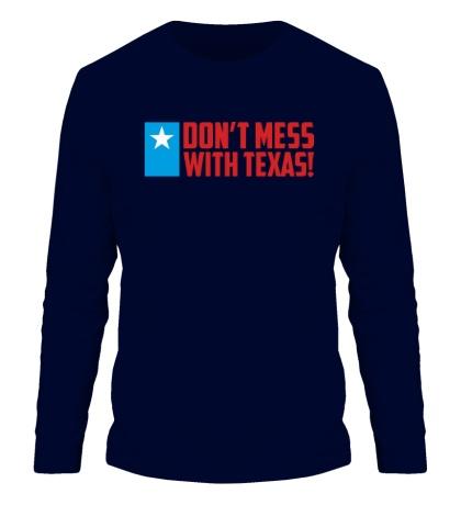 Мужской лонгслив With Texas