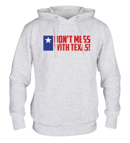 Толстовка с капюшоном With Texas