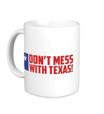 Керамическая кружка With Texas