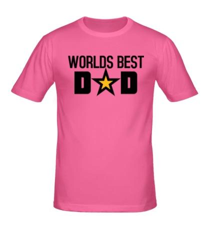 Мужская футболка Worlds Best Dad