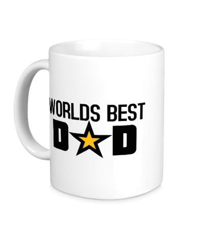 Керамическая кружка Worlds Best Dad