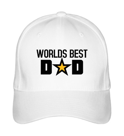 Бейсболка Worlds Best Dad