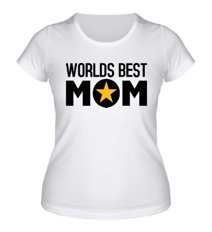 Женская футболка Worlds Best Mom