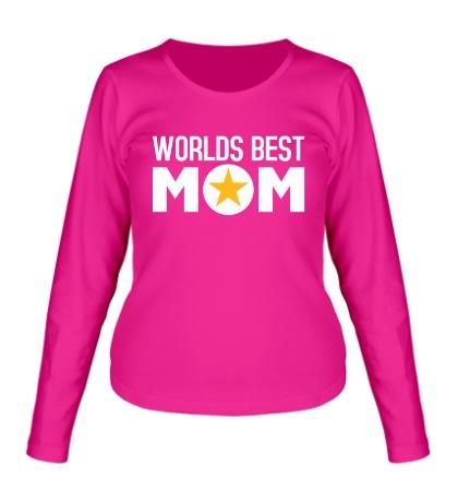 Женский лонгслив Worlds Best Mom