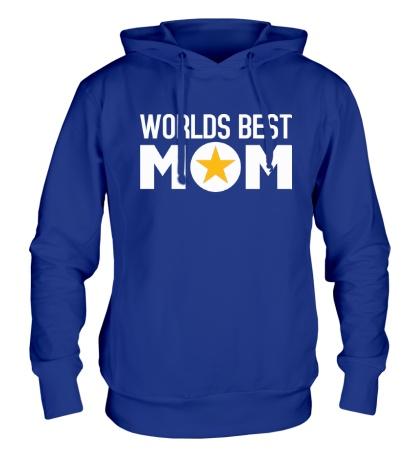 Толстовка с капюшоном Worlds Best Mom
