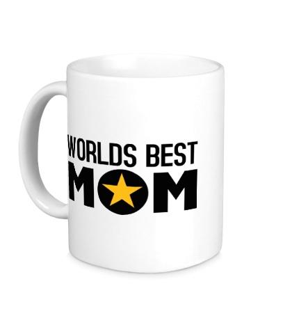 Керамическая кружка Worlds Best Mom