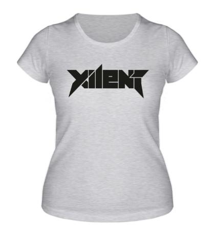 Женская футболка Xilent