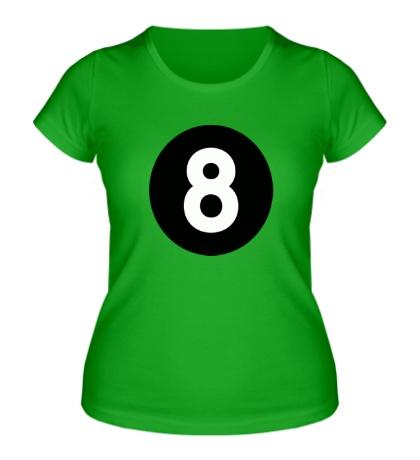 Женская футболка Восемь