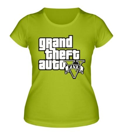 Женская футболка GTA 5