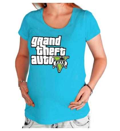 Футболка для беременной GTA 5