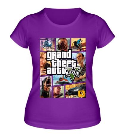 Женская футболка GTA 5: Poster