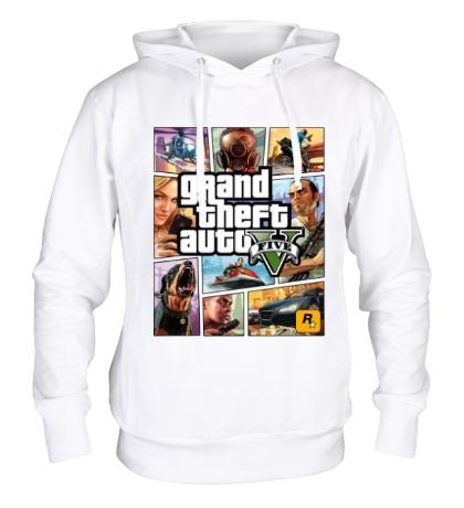 Толстовка с капюшоном GTA 5: Poster