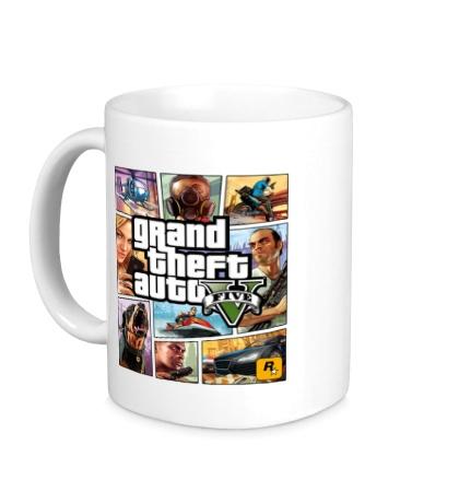 Керамическая кружка GTA 5: Poster