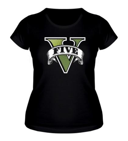 Женская футболка GTA 5 Symbol