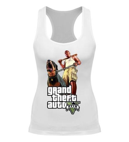 Женская борцовка GTA 5: Dog & Man