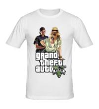 Мужская футболка GTA 5: Police