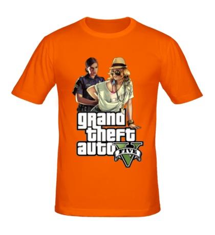 Мужская футболка «GTA 5: Police»